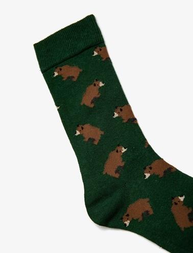 Koton Erkek Çorap Yeşil